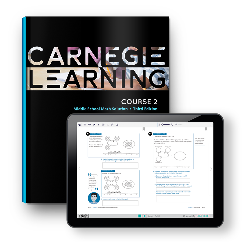Middle School Math Curriculum & Software - Carnegie Learning