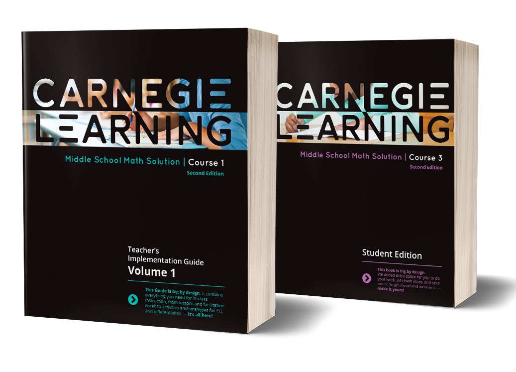 Middle School Math Curriculum Software Carnegie Learning